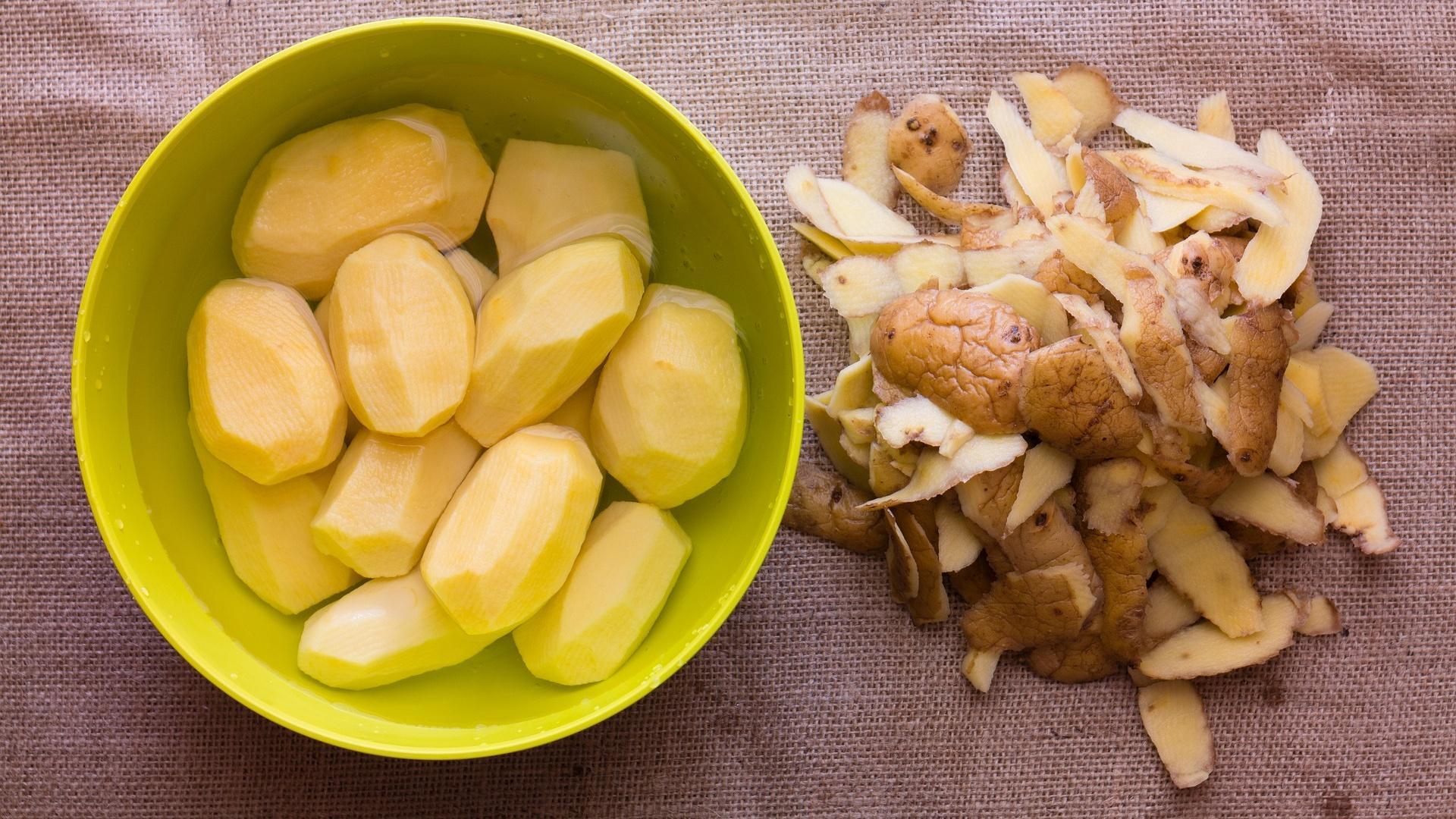 Geschälte Kartoffeln aufbewahren: So gelingt es Ihnen