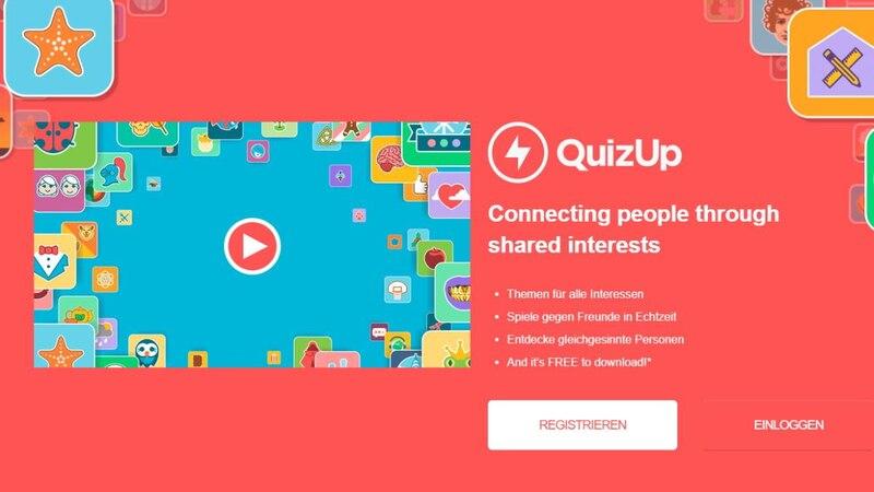 QuizUp ist eine Alternative zu Kahoot, die sich eher auf den Quizspiel-Charakter konzentriert.