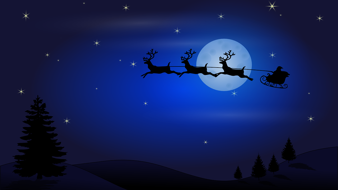 Rentier-Namen: So heißen die Tieren, die den Schlitten des Weihnachtsmannes ziehen