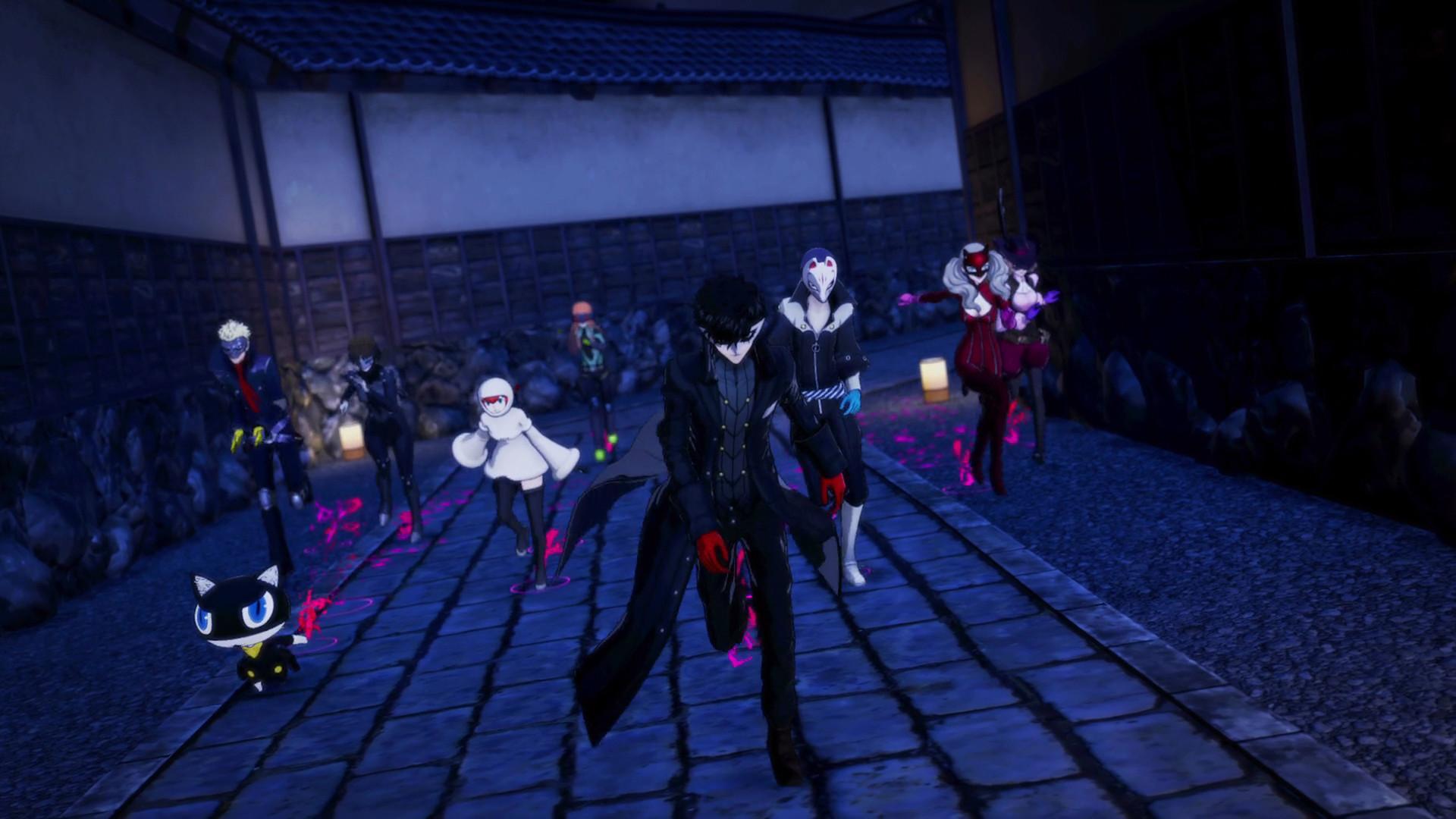 In Persona 5 Strikers können Sie Ihr Team aus 10 verschiedenen Charakteren zusammenstellen.