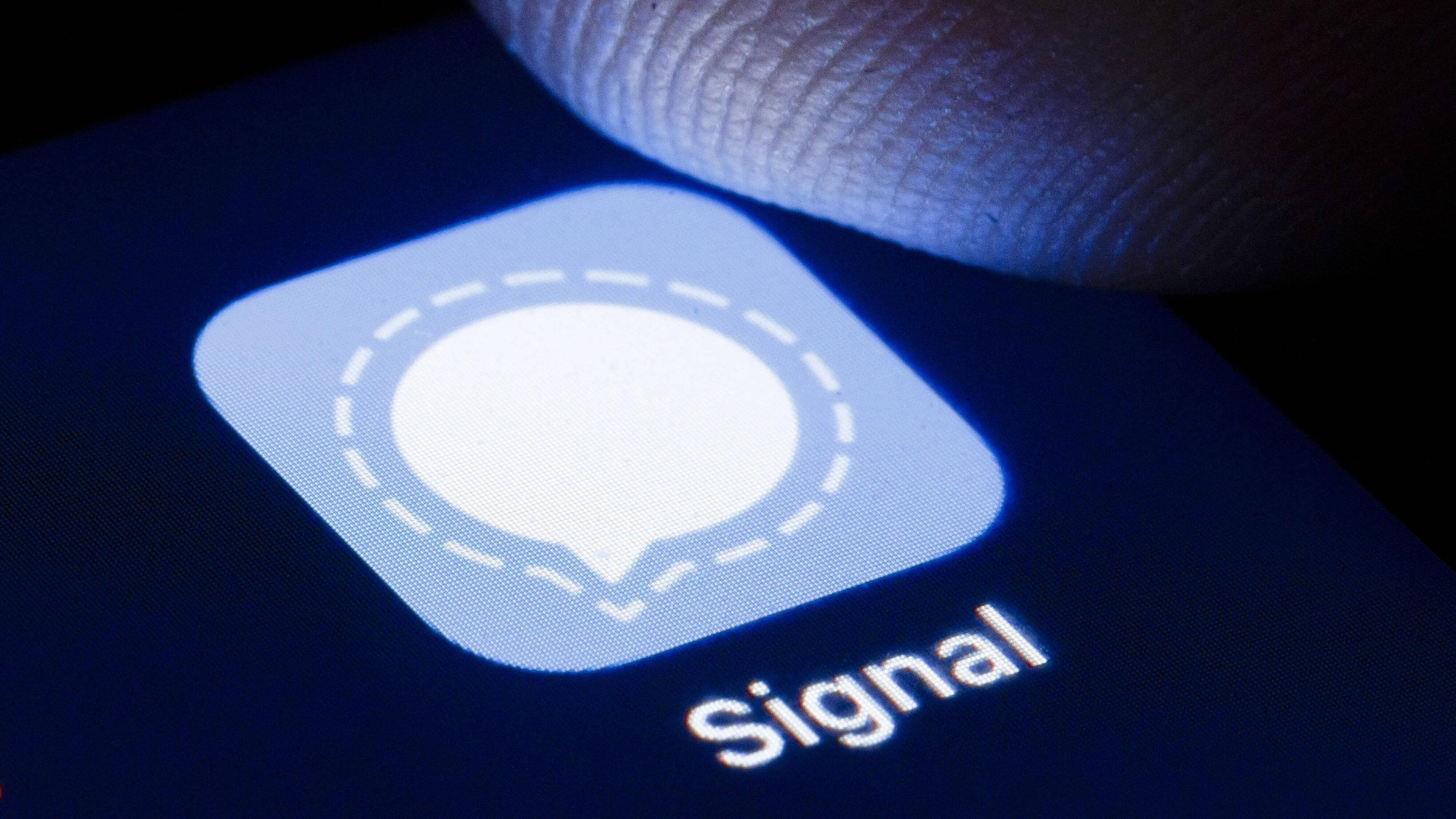 Beim Dienst Signal können Sie sich leider ohne Telefonnummer nicht registrieren.