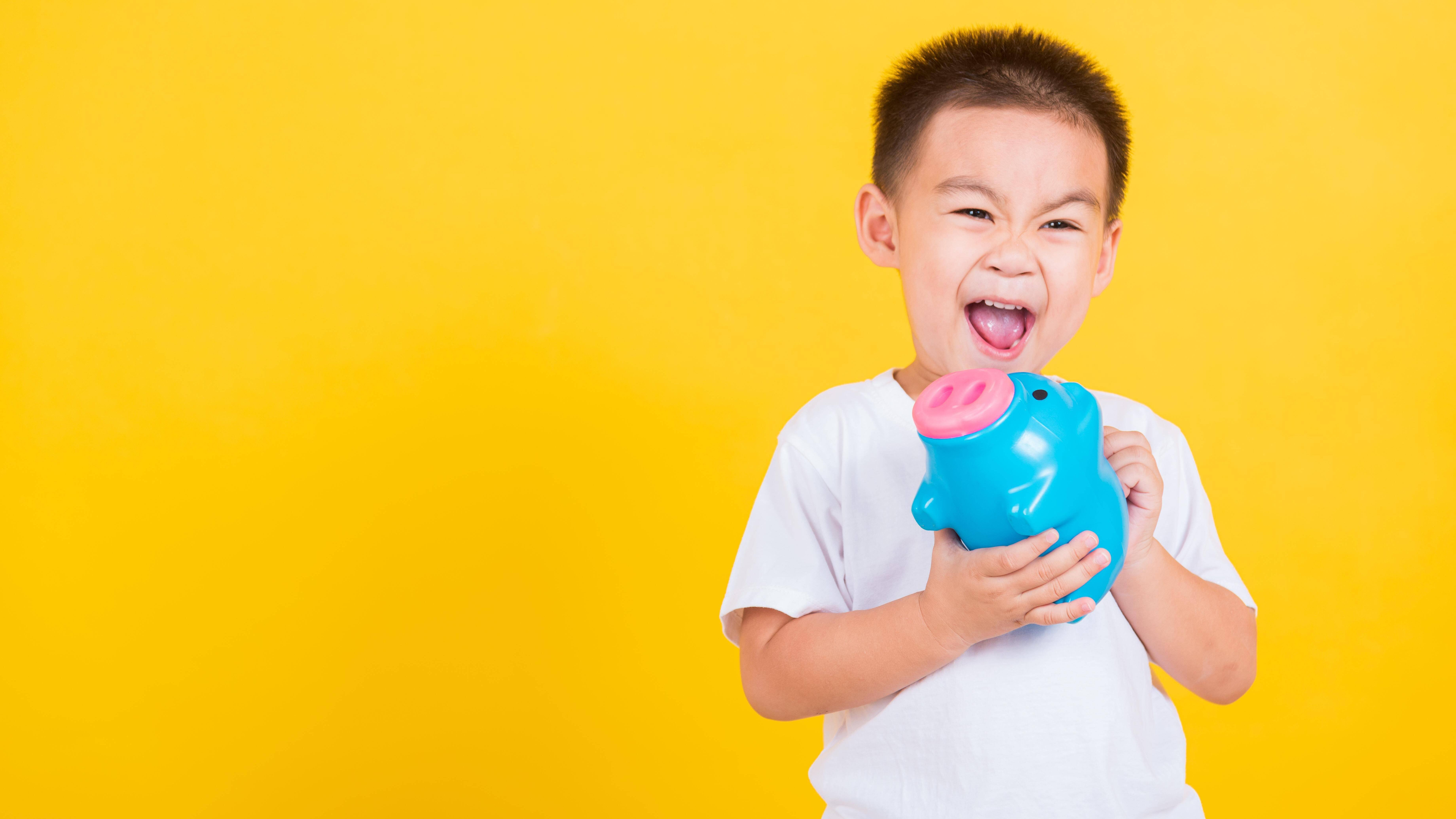 Ein Girokonto für Kinder kann ab dem 7. Lebensjahr eingerichtet werden.