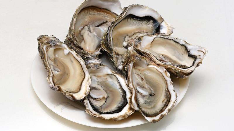 Austern sind sinnliche, aphrodisierende Muscheln.