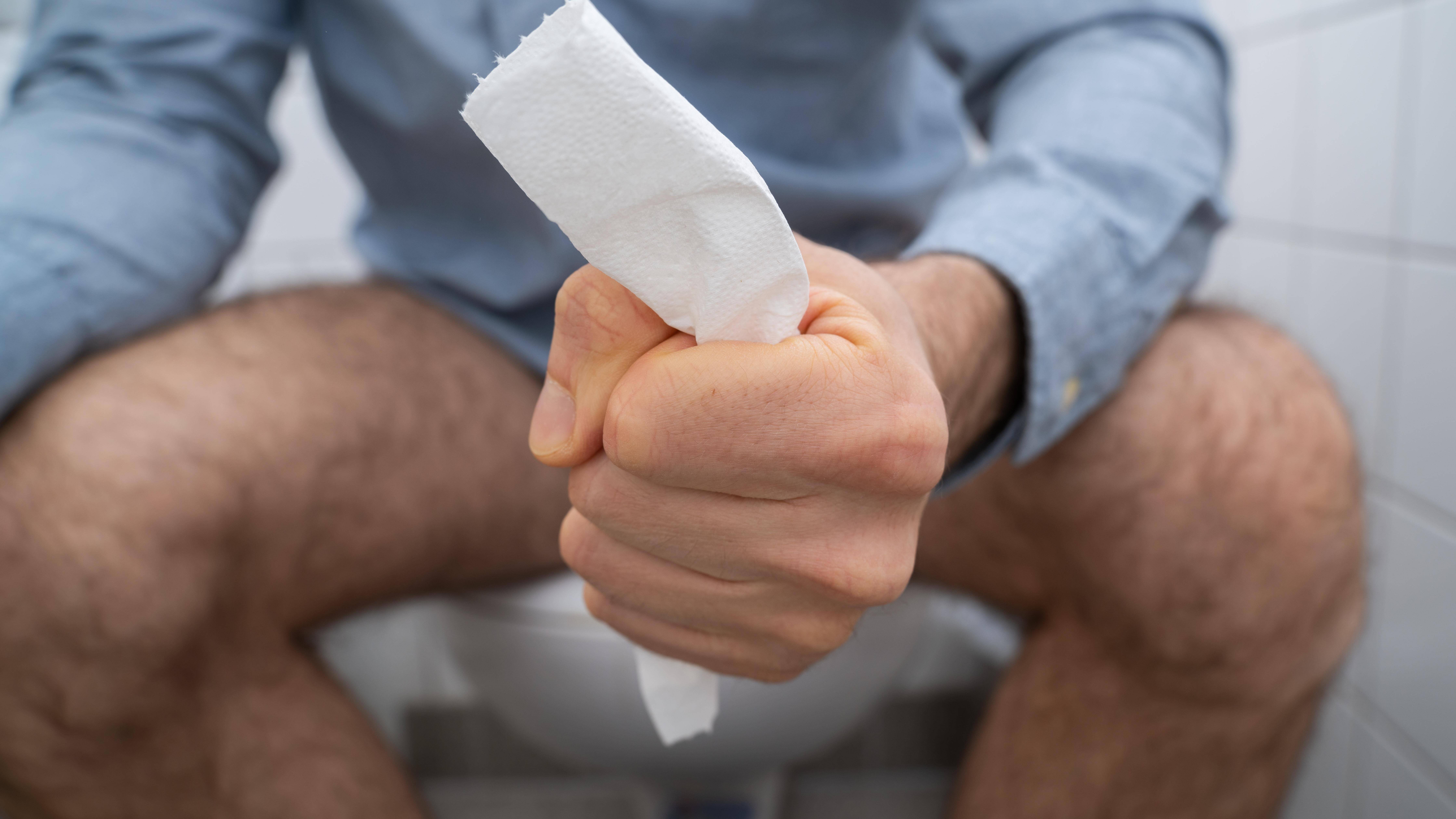 Durchfall ist ein häufiges Problem beim Fasten.