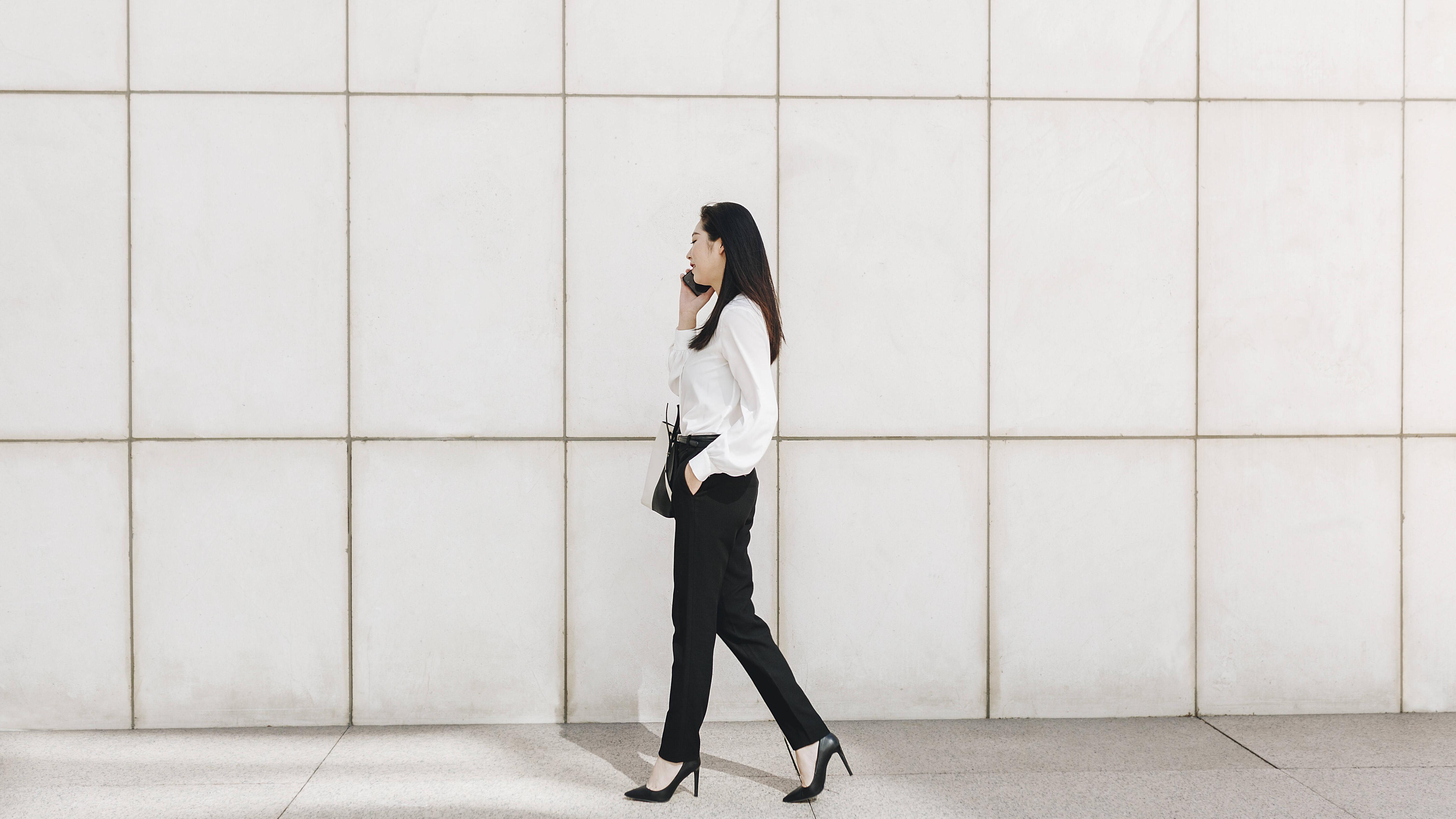 Einen chicen Business-Look können Sie auch im privaten Alltag tragen