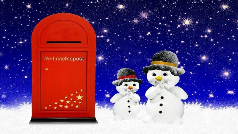 Adresse vom Weihnachtsmann: Auch im Ausland empfängt Santa Claus Briefe von überall her.