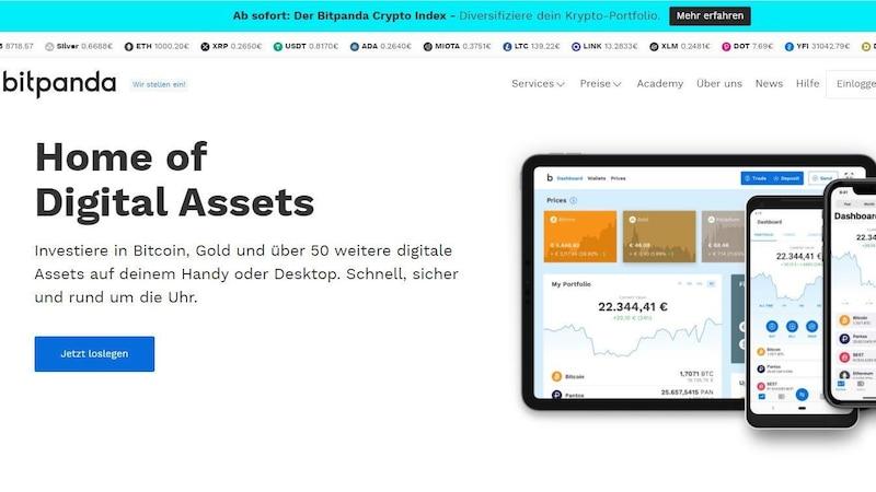 Bitpanda.com: Kinderleicht mit Bitcoins handeln