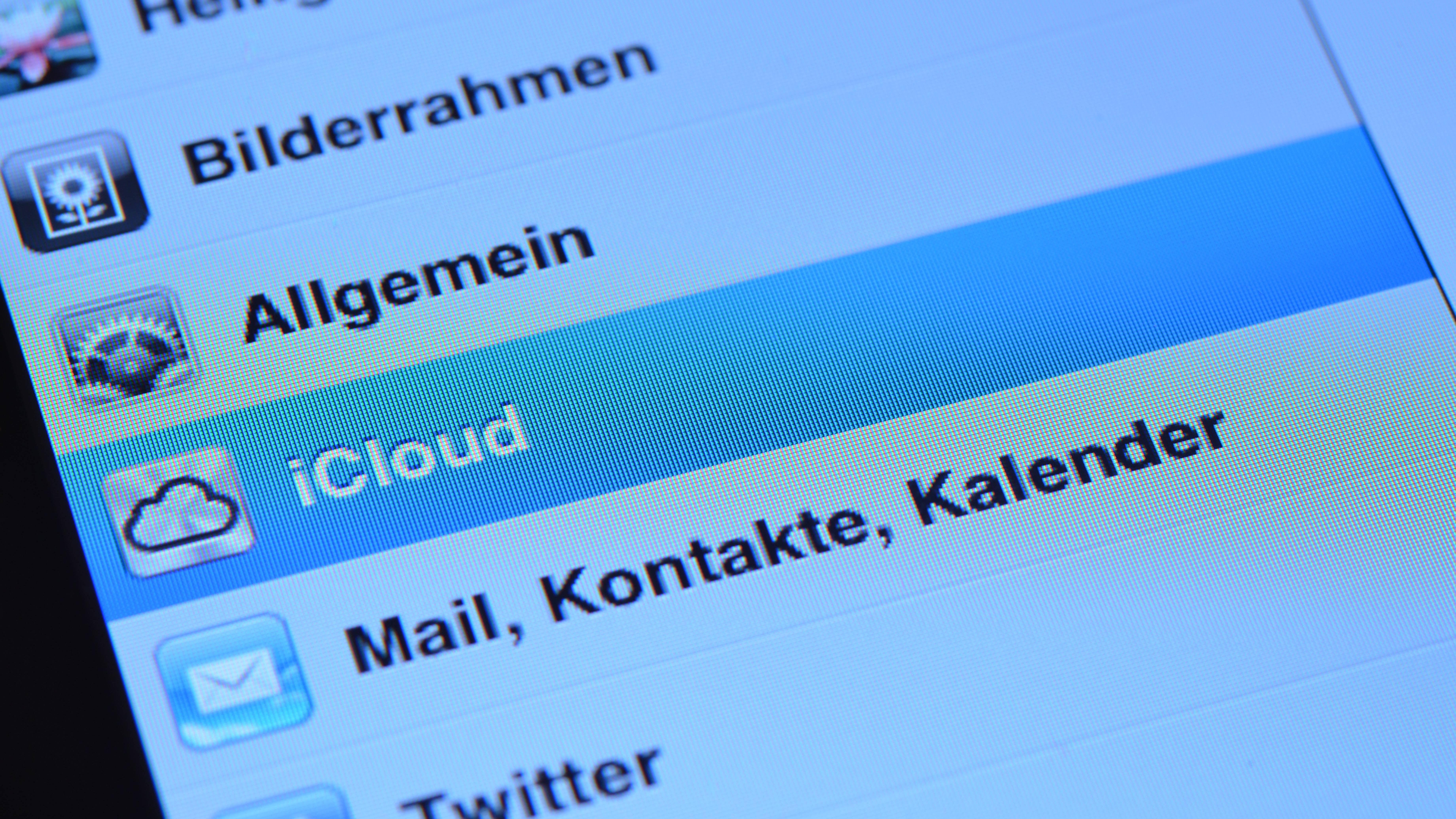 Über den iCloud-Link können Sie Ihre Dateien teilen.