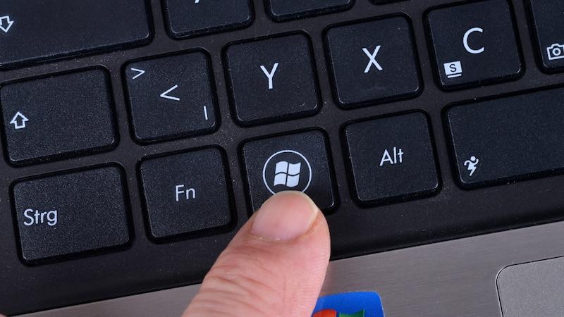 Display mit Tastatur deaktivieren