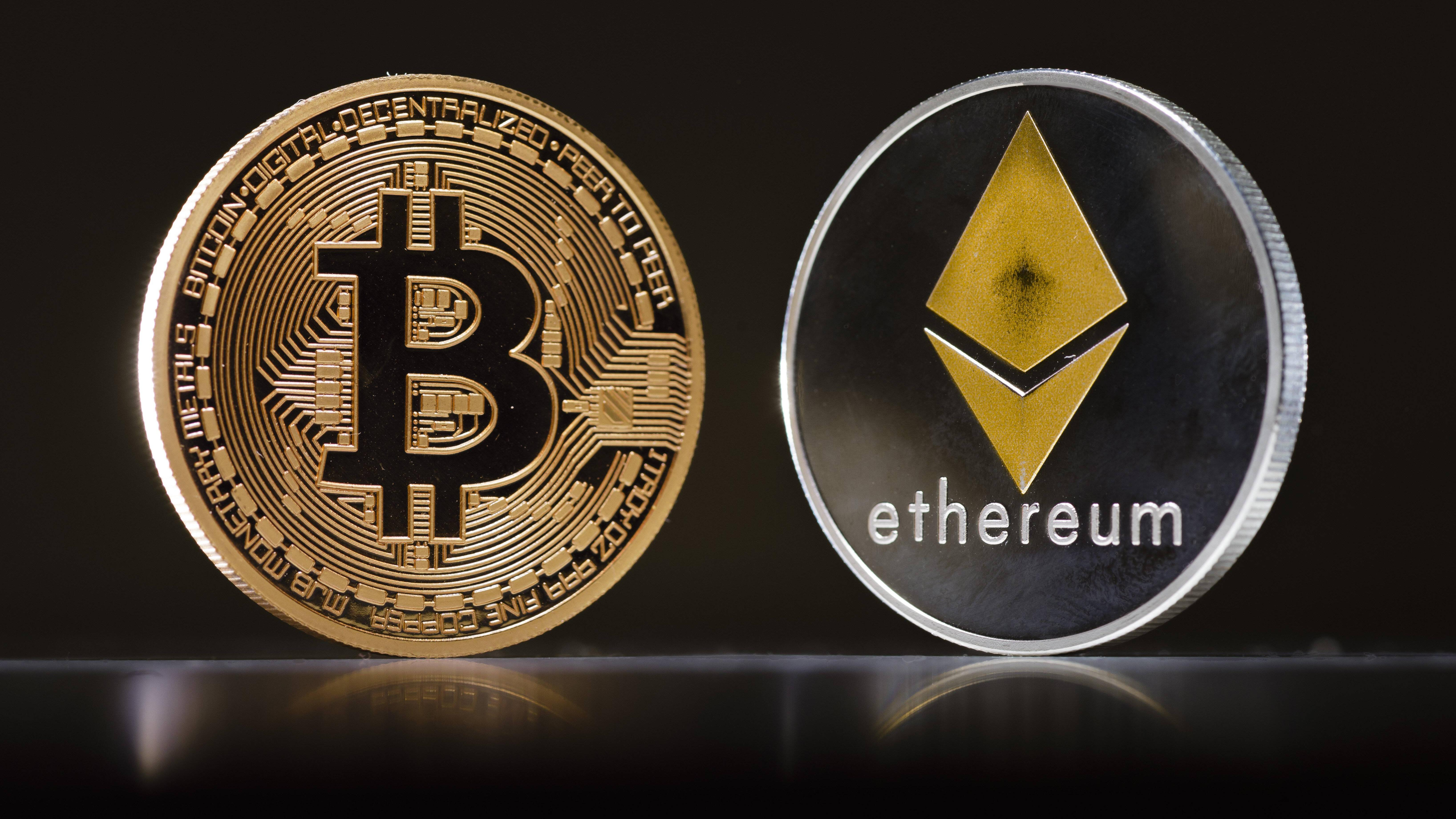 Ethereum vs. Bitcoin: Die Krypto-Währungen im Vergleich