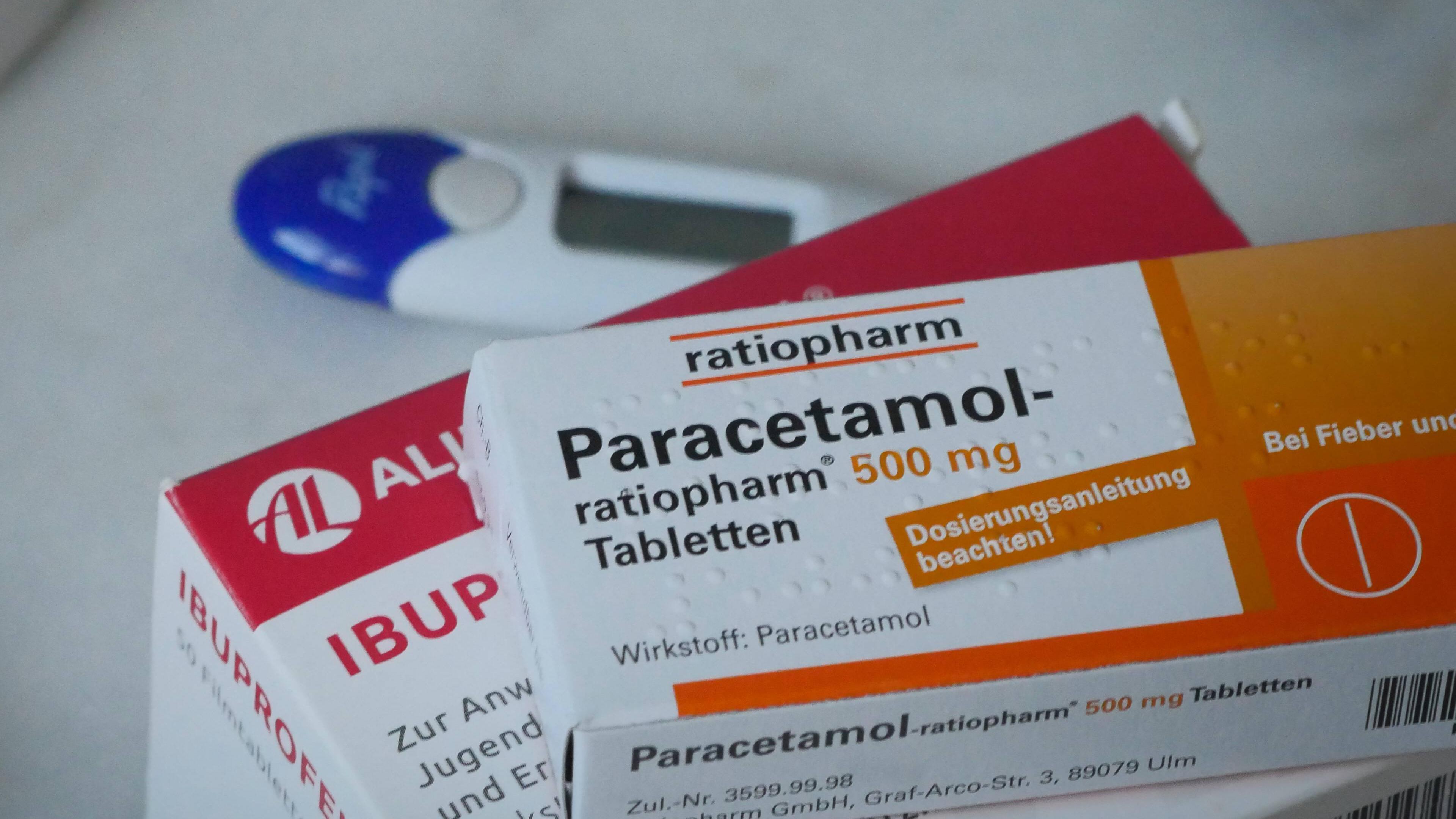 Paracetamol und Ibuprofen gelten als stillverträglich.