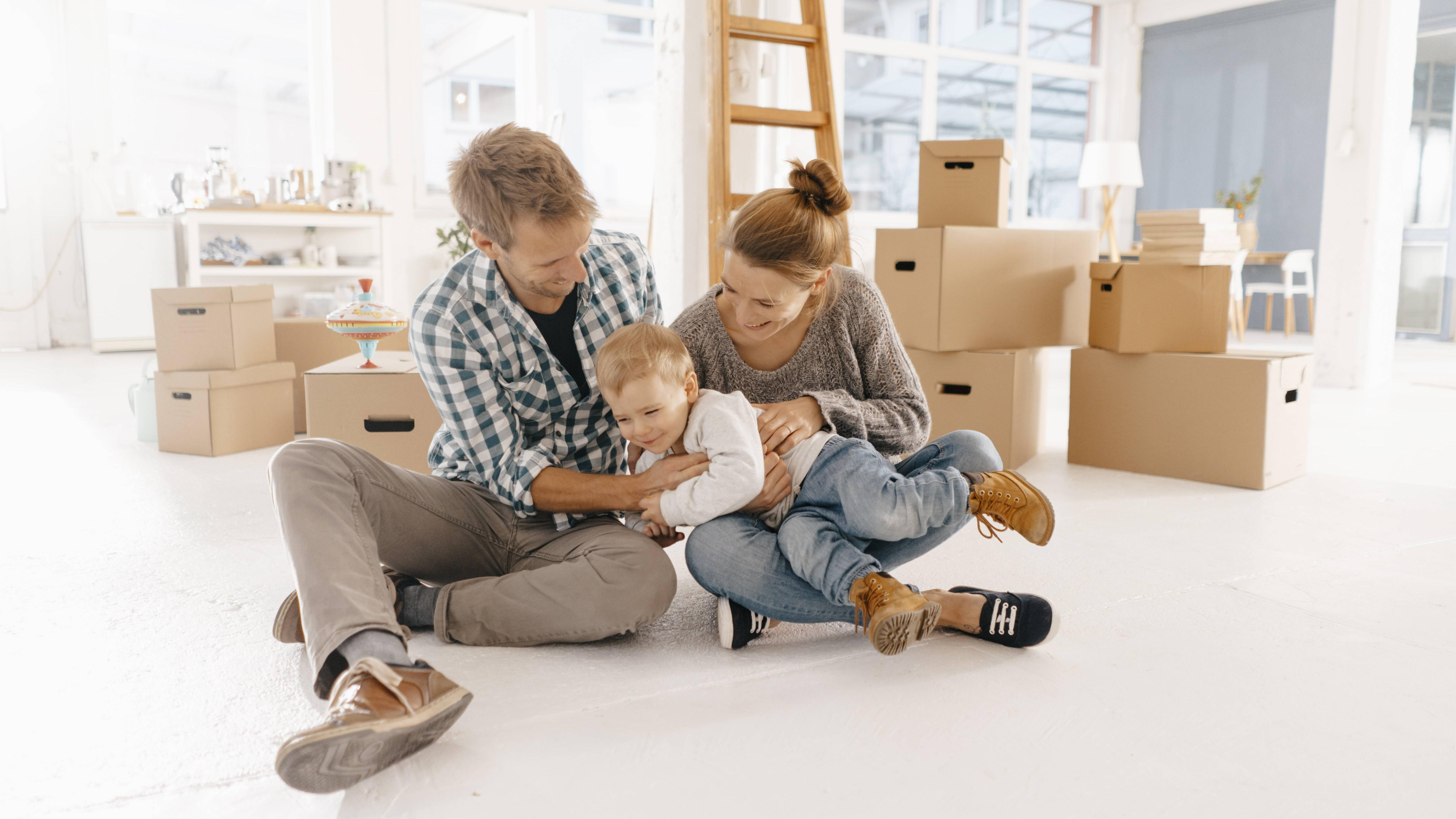 Umziehen mit Kind: Darauf sollten Sie achten