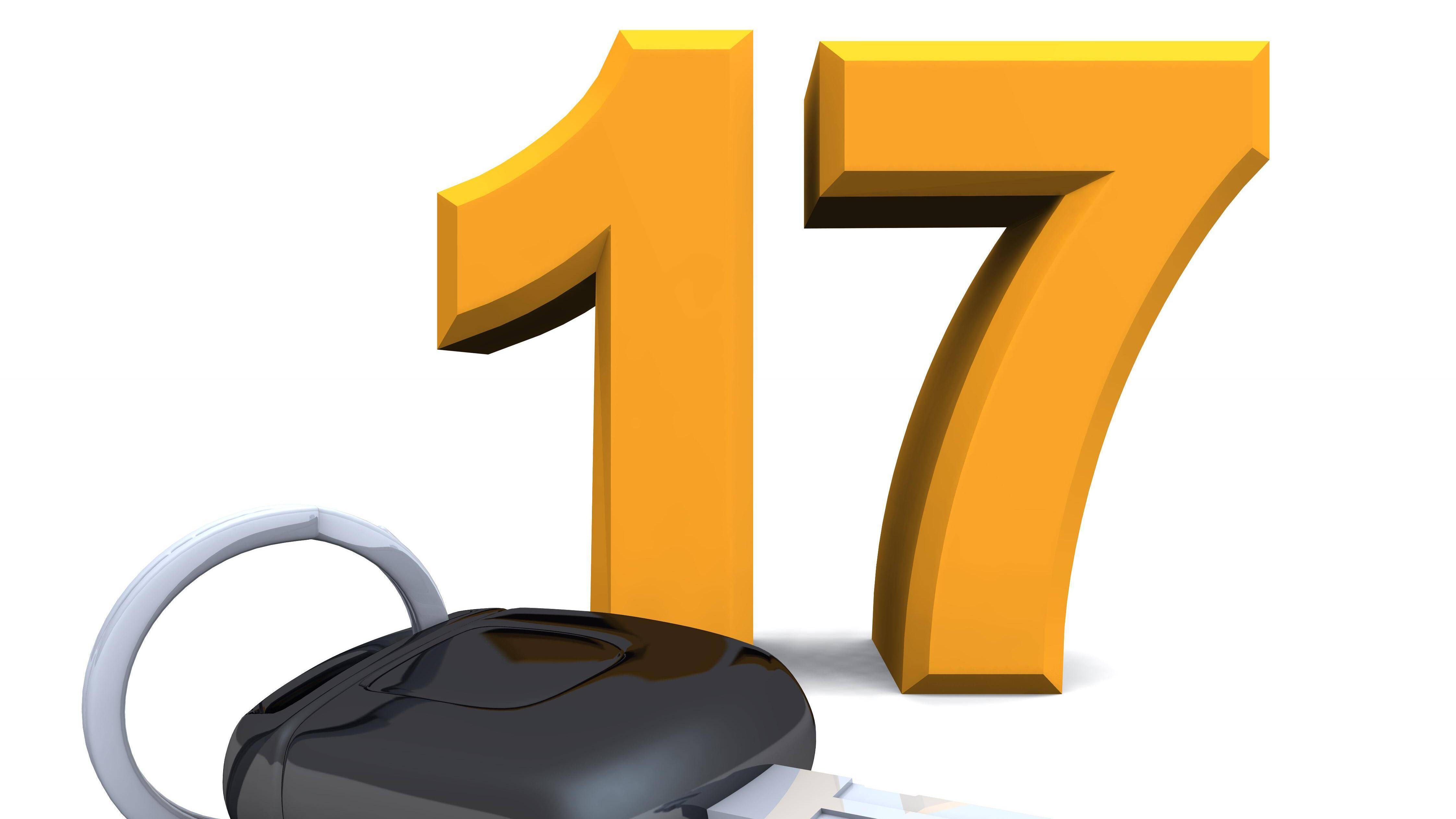 Fahren mit 17 wird auch begleitetes Fahren genannt. Bis zum vollendeten 18. Lebensjahr sind eingetragene Begleitpersonen mitzunehmen.