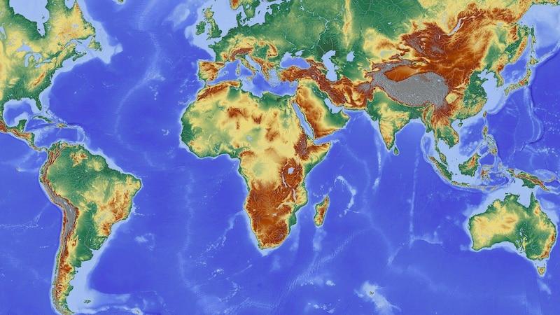 Der längste Breitenkreis der Erde, der Äquator, verläuft durch dreizehn Länder.