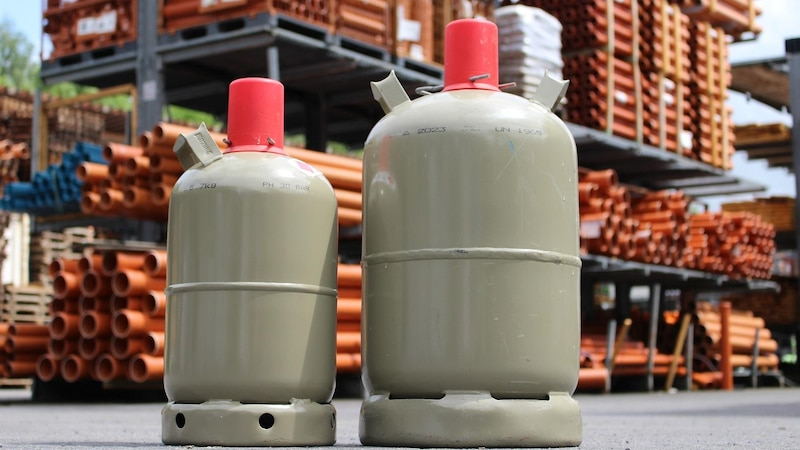 Beim Transport von Gasflaschen müssen Sie ein paar Dinge beachten, um gefährliche Situationen zu verhindern.