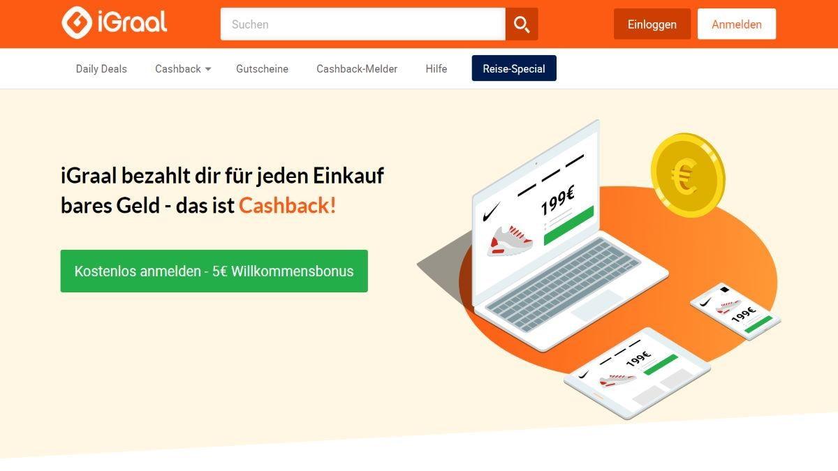 CashBack-Anbieter iGraal