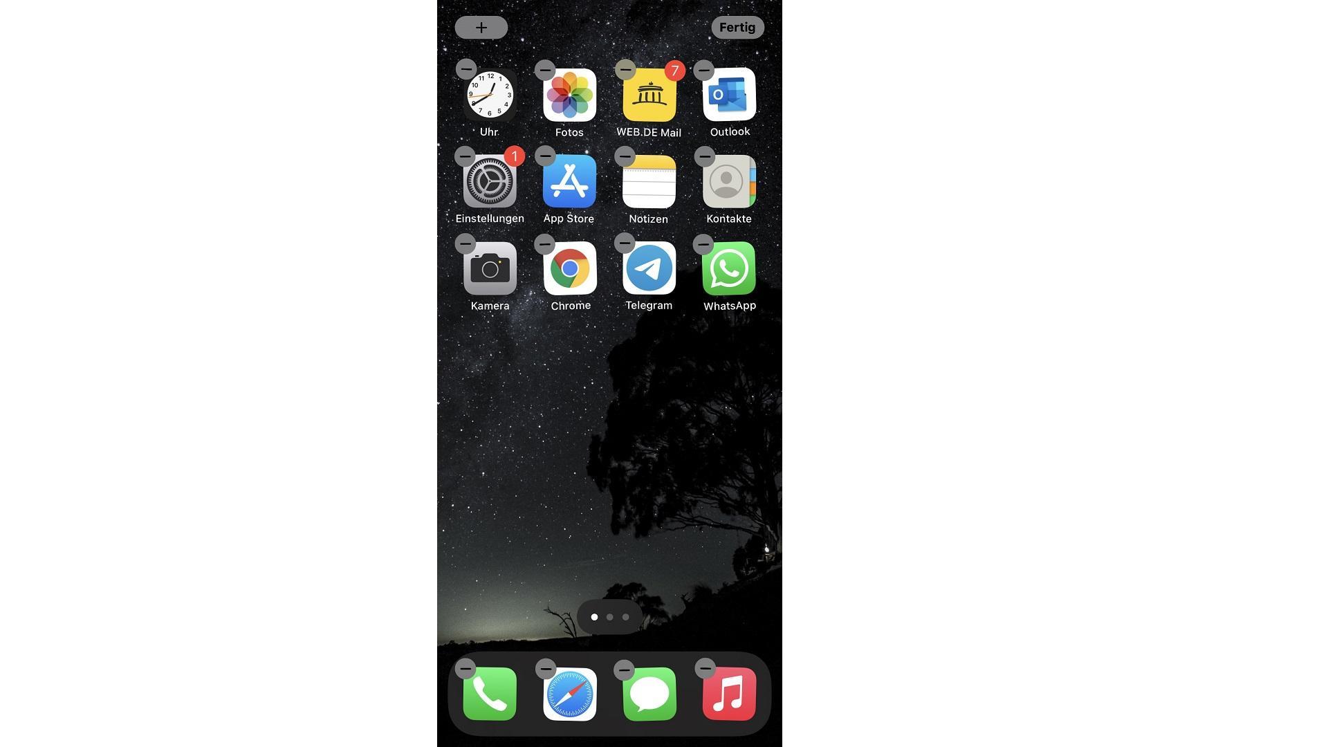 Veraltete Apps löschen und neu installieren