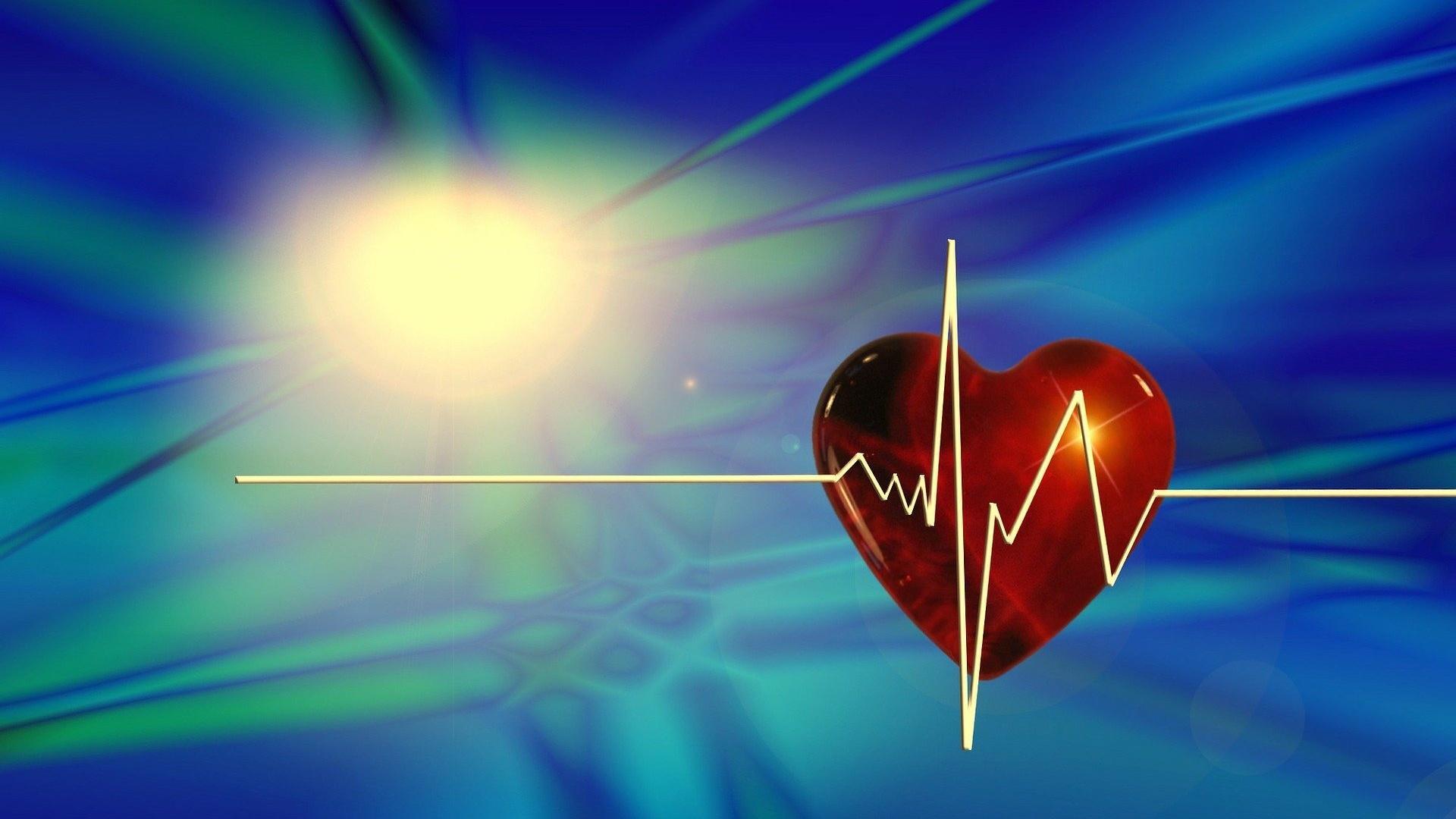 Ein Herzinfarkt kann durch Stress ausgelöst werden.
