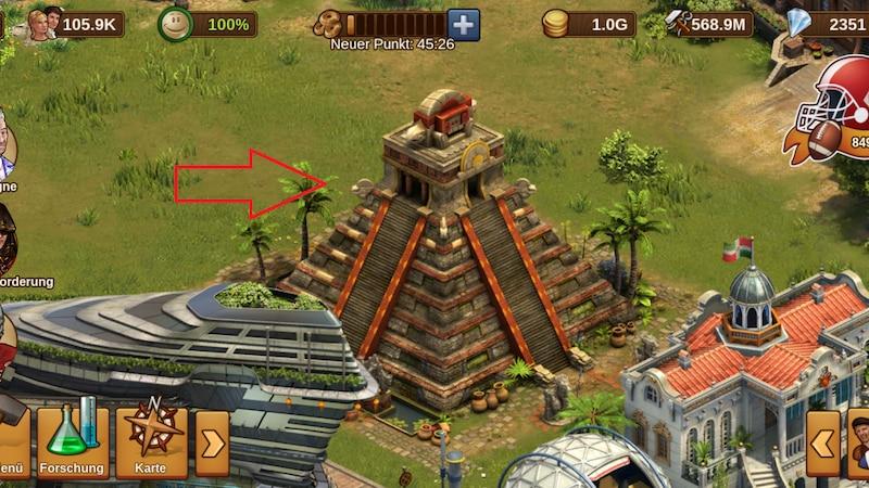 Der Relikttempel in Forge of Empires versorgt Sie mit Relikten in der Gilden-Expedition.