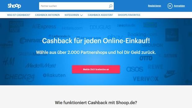 CashBack-Anbieter Shoop