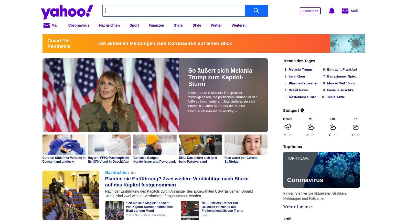Yahoo ist ein Urgestein der Suchmaschinen. Mittlerweile nutzen immer weniger Menschen den Dienst.