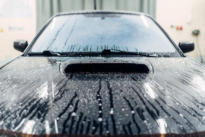 Autowaschen im Winter: Hinweise & Tipps