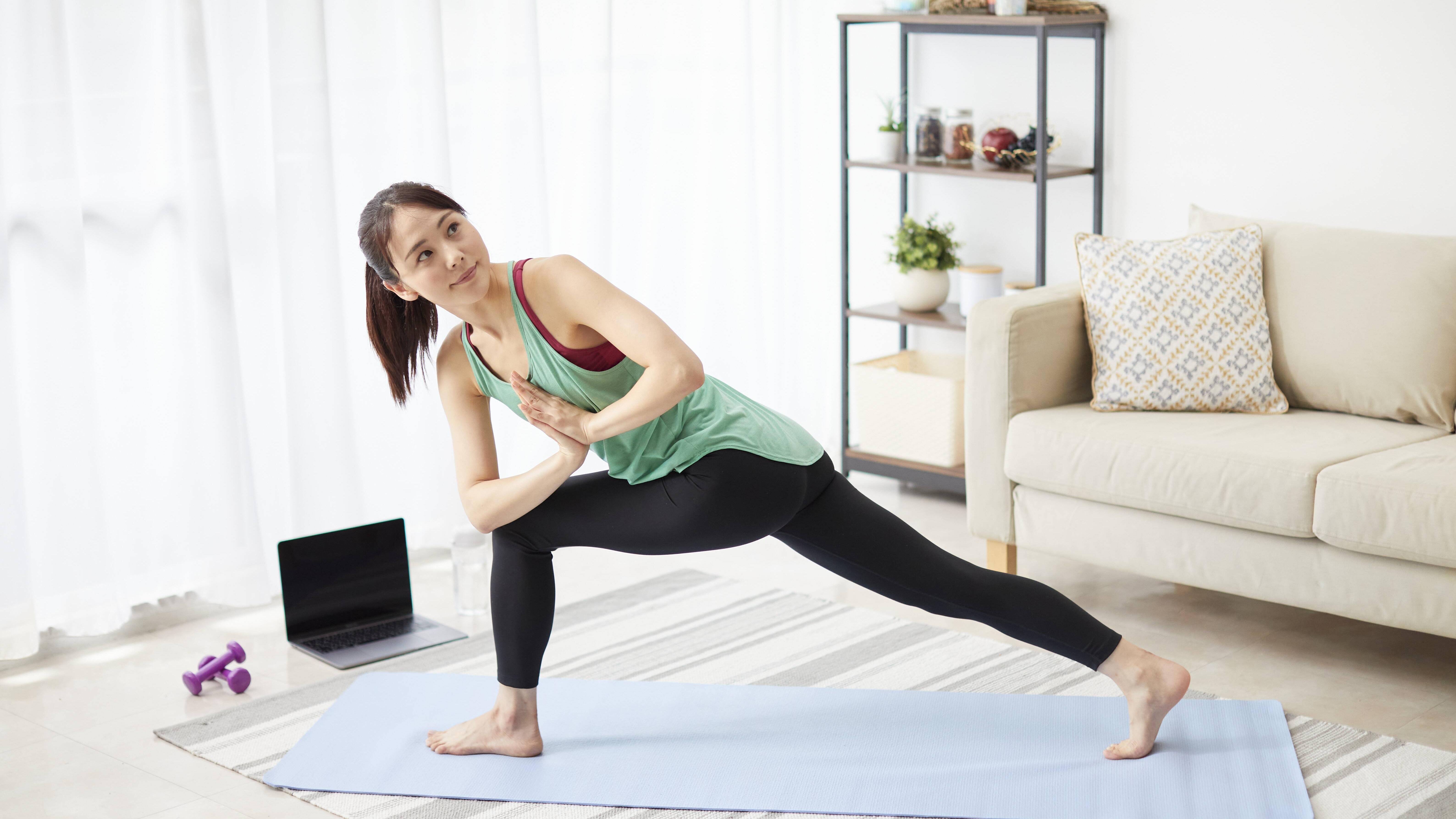 Mit diesen kostenlosen Yoga Apps können Sie immer und überall Yoga praktizieren.