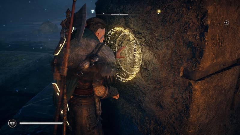 Um das legendäre Schwert zu erhalten, müssen Sie 11 Tafeln sammeln und in Steinsäulen einsetzen