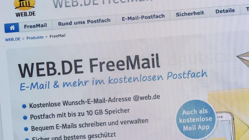 Web.de: Login funktioniert nicht - was tun?