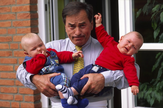 Zwillinge von zwei Vätern sind so selten, dass man sowas nicht vermutet!
