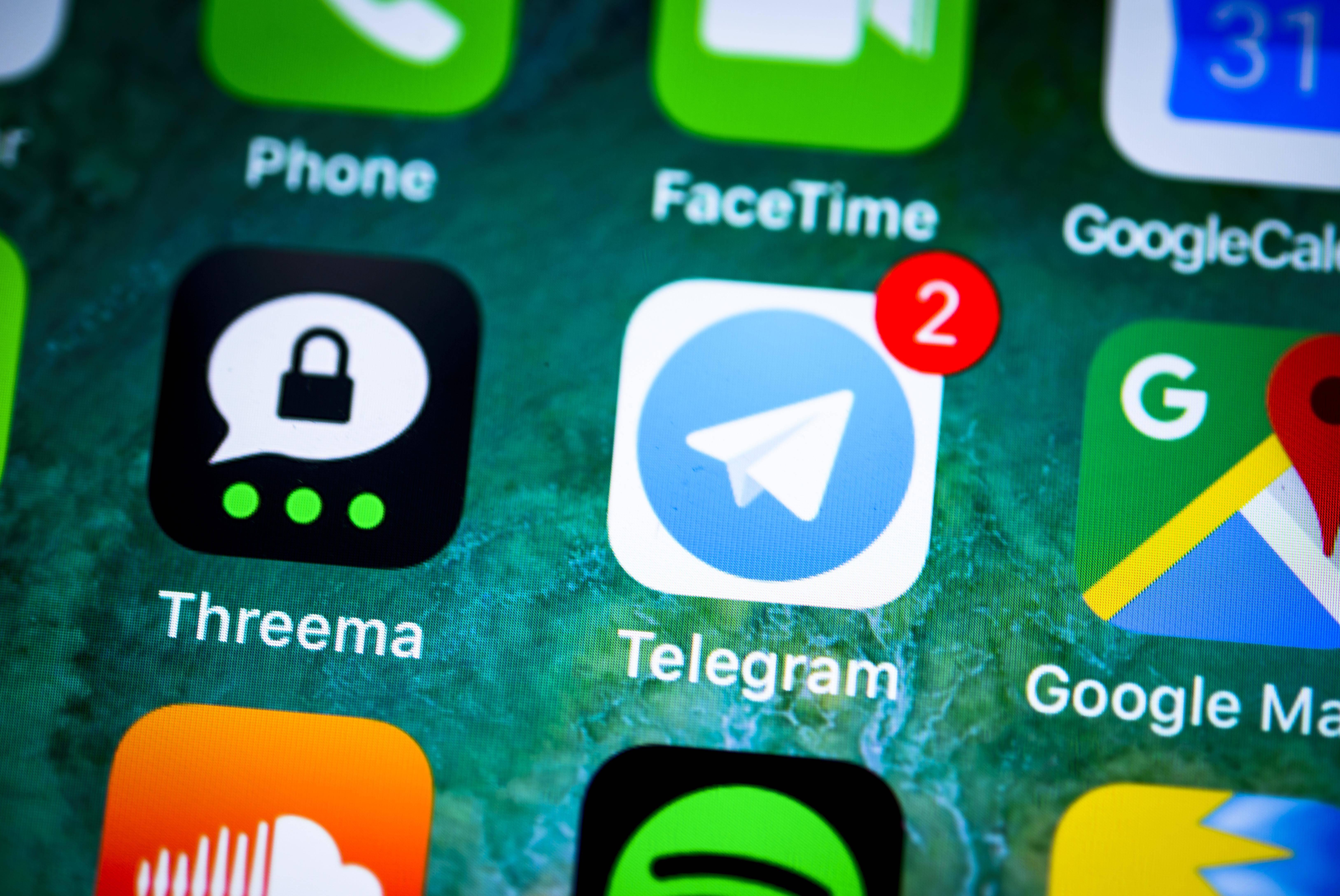 Bei Telegram lässt sich ein Kontakt einfach löschen.