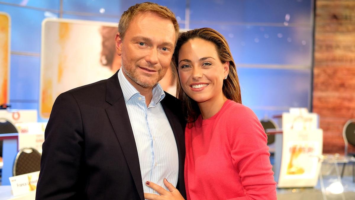 Christian Lindner 2019 mit Freundin Franca Lehfeldt