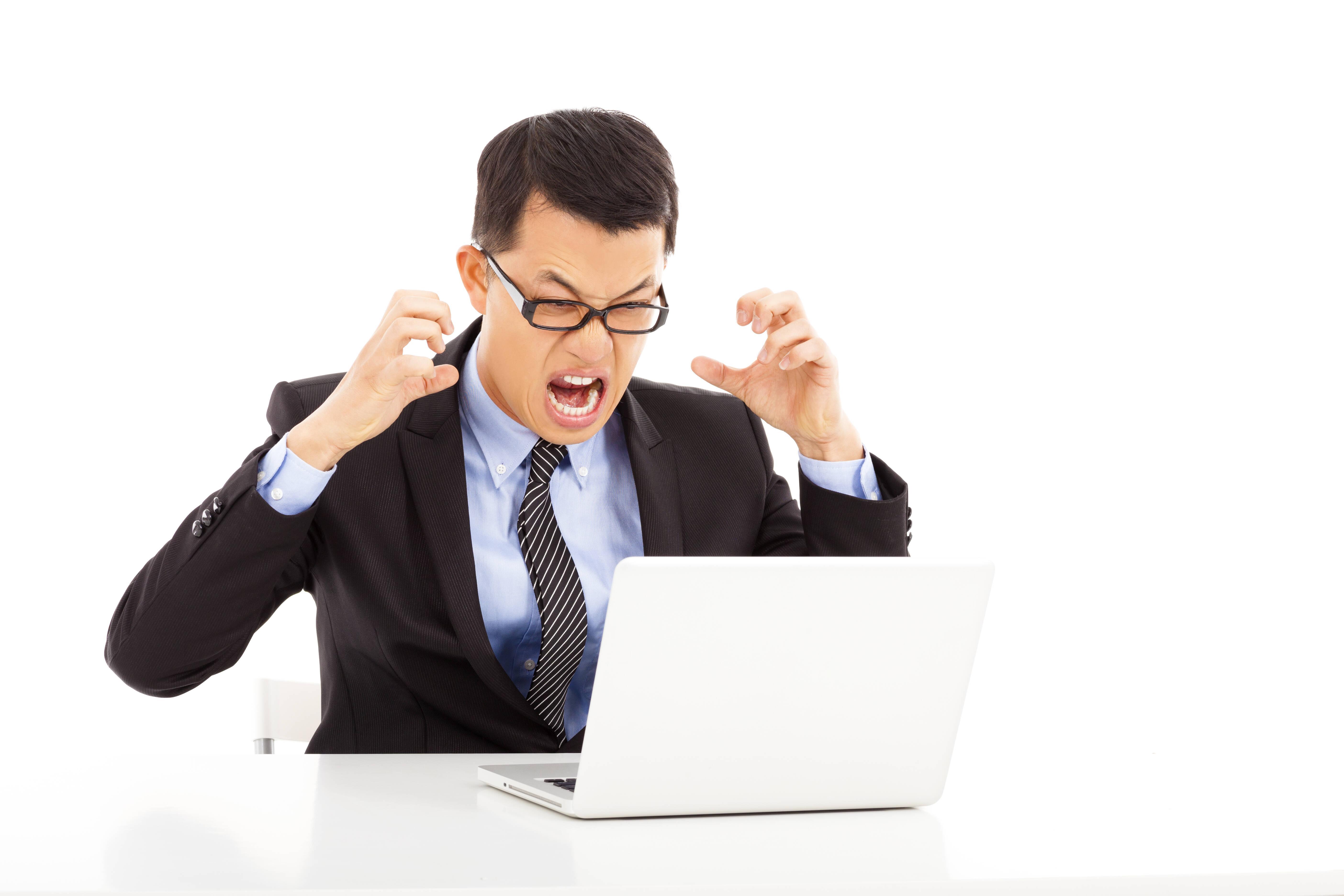 Es ist ärgerlich, wenn web.de oder andere Email-Anbieter down sind