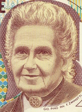 Maria Montessori war Ärztin und hat sich zudem als Pädagogin einen Namen gemacht.