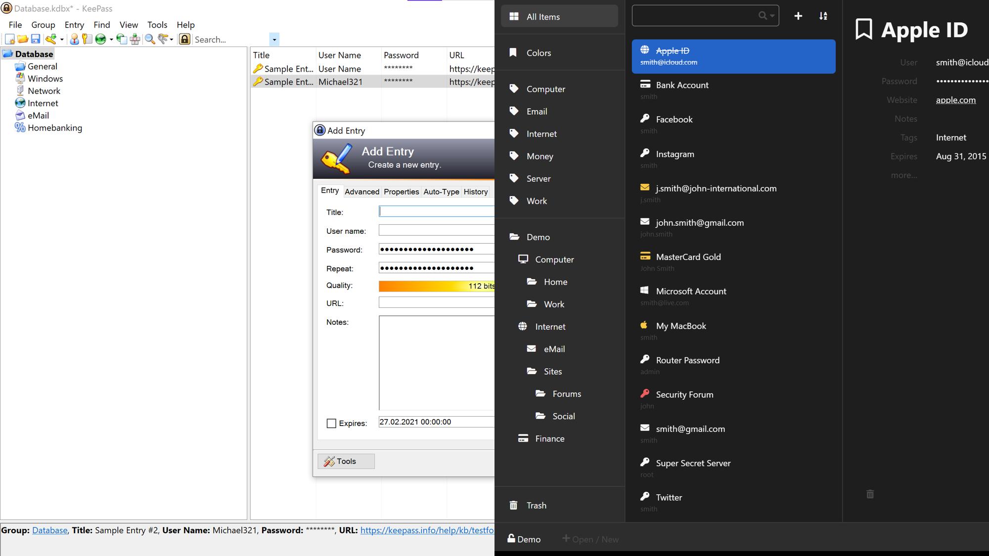 KeePass kann durch Erweiterungen modernisiert werden und weitere Funktionen bekommen.