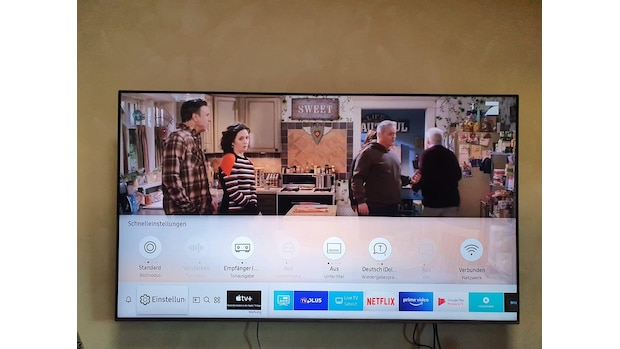 Wenn Sie die Werbung ausschalten wollen, öffnen Sie als erstes die Einstellungen an Ihrem Samsung-TV.