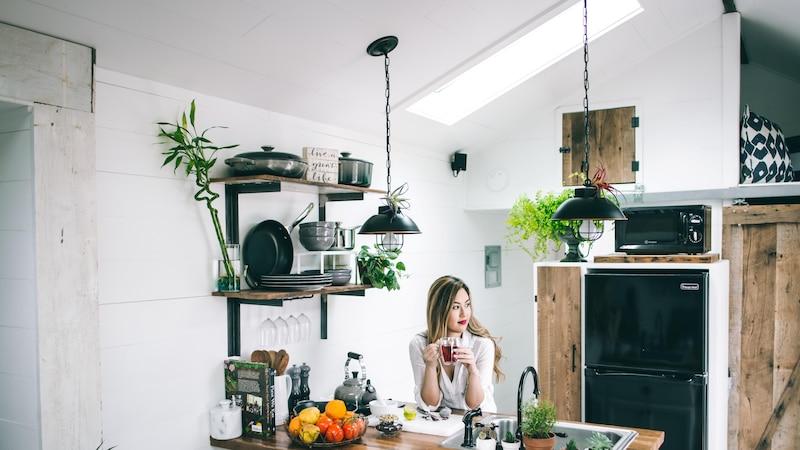 Die Wandgestaltung in der Küche ist eine tolle Möglichkeit, sich kreativ auszutoben.