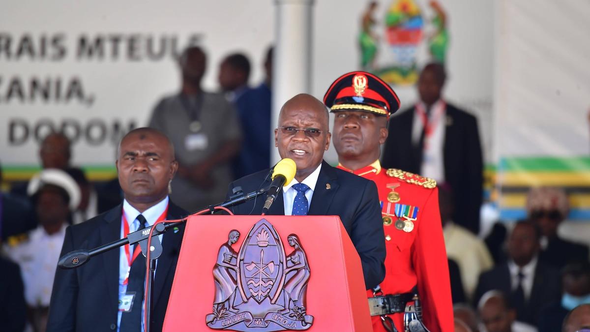 Tansanias Präsident John Magufuli starb im Alter von 61 Jahren an Herzversagen.
