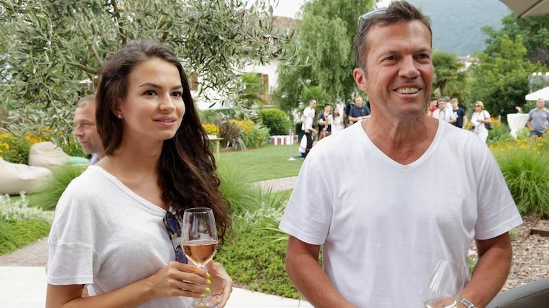2015: Lothar Matthäus und Ehefrau Nummer 5, Anastasia Klimko