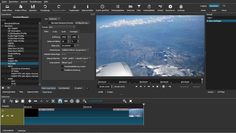 Shotcut: Video exportieren - so funktioniert's