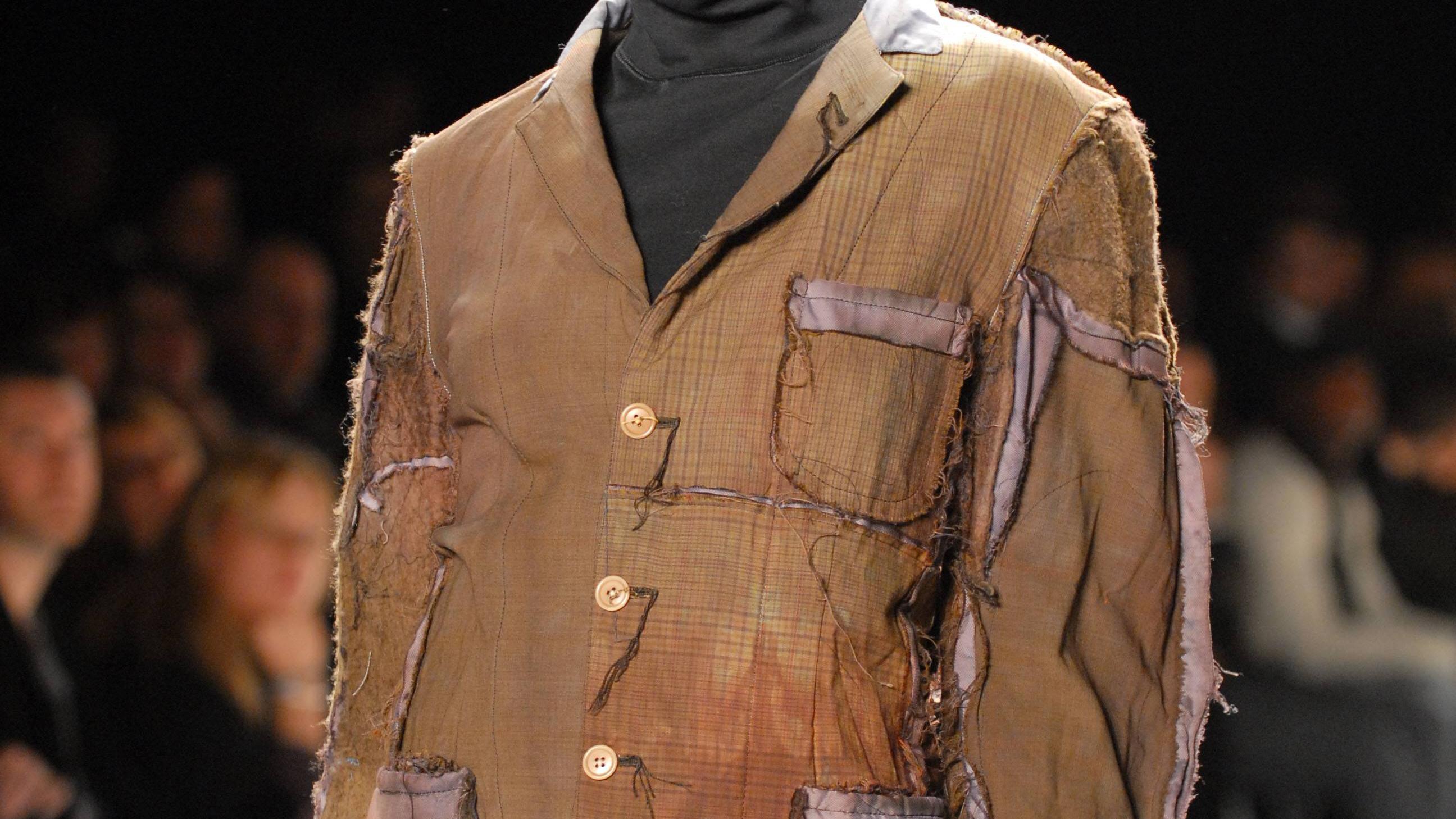 Auch die Mode-Branche entdeckt regelmäßig Flicken und Patchwork neu.