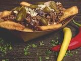 Chili Con Carne vom Vortag mit frischen Toppings