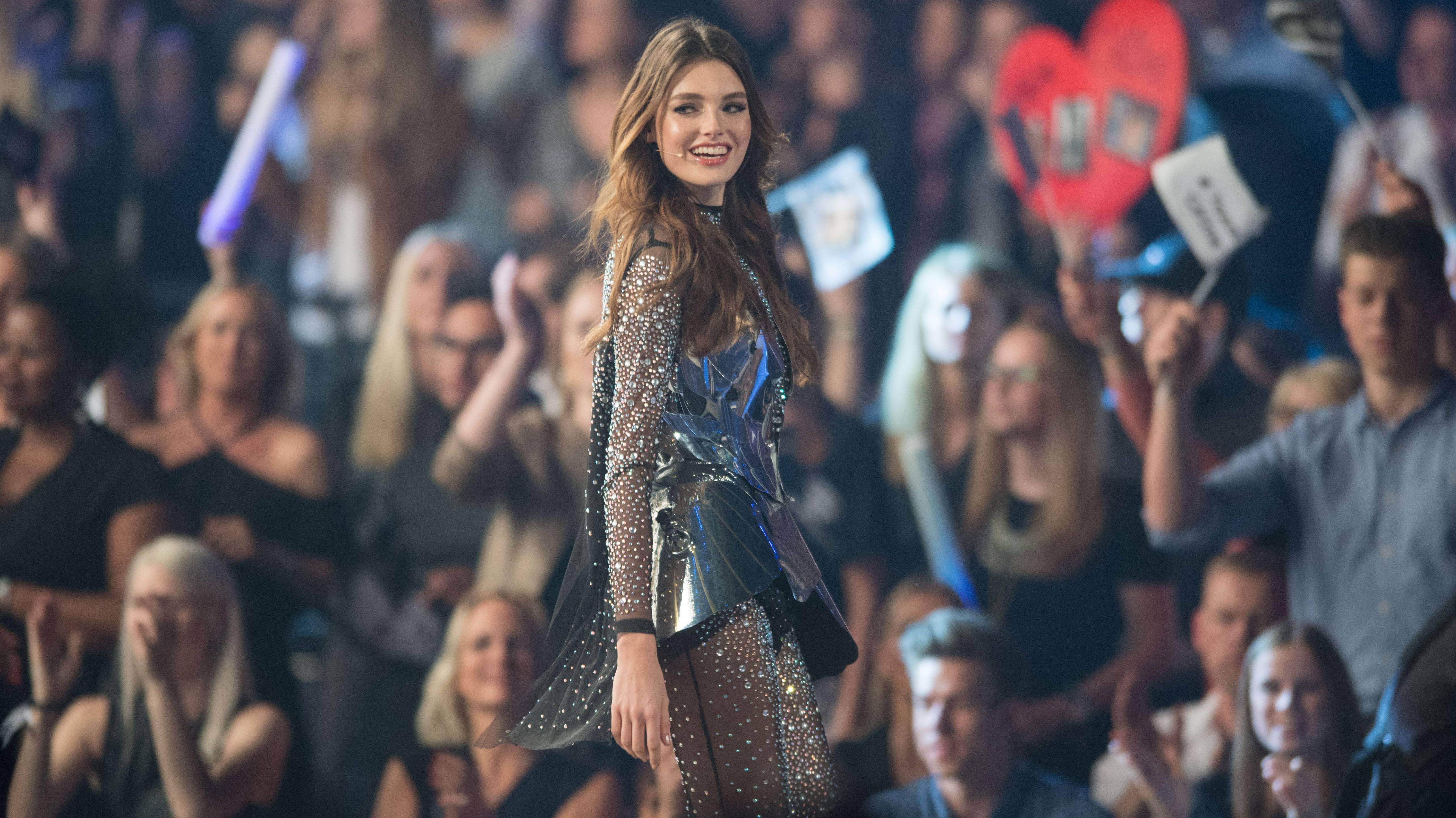 Céline Bethmann ist ein erfolgreiches Model.