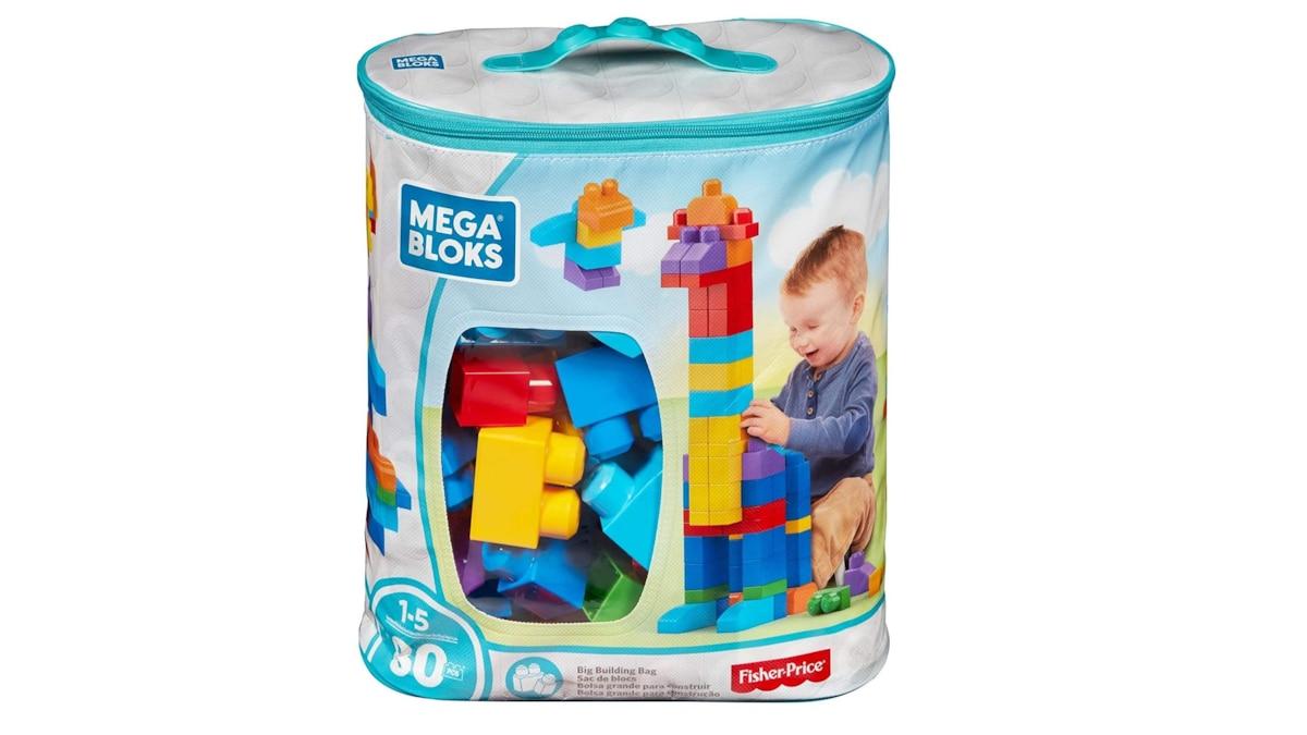 Mega Bloks eignen sich aufgrund ihrer gigantischen Größe besonders gut für Kleinkinder