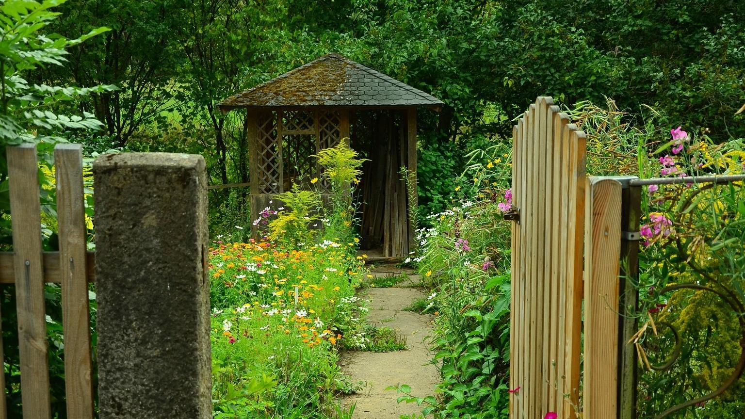 Naturgarten gestalten: Tipps, Ideen und Möglichkeiten