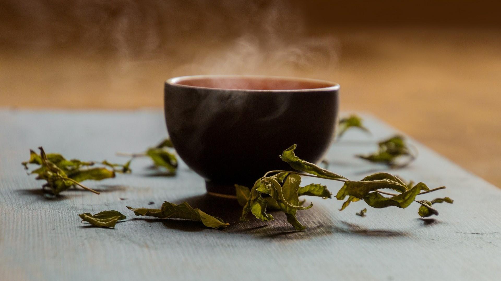 Grüner Tee eignet sich zum Abnehmen.
