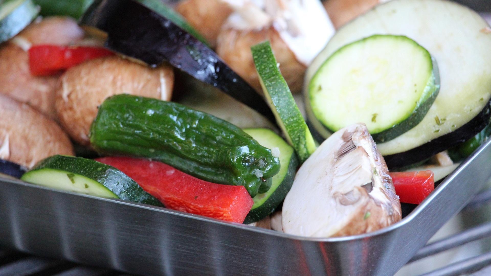 Gemüse darf beim Grillen nicht fehlen