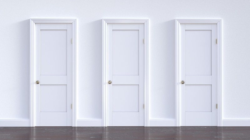 Tür verkleiden: Einfache Anleitung mit Tipps