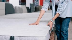 Passende Matratzen gibt es für jeden Körpertyp.