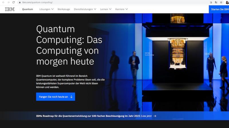 Quantencomputer von IBM - Q System One